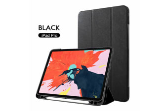 Leather Smart Case Cove Pencil Charging for iPad 12.9 inch 2017/2016