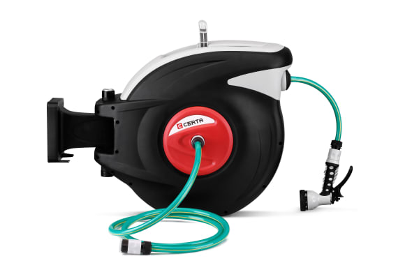 Certa 30m Retractable Garden Hose Reel
