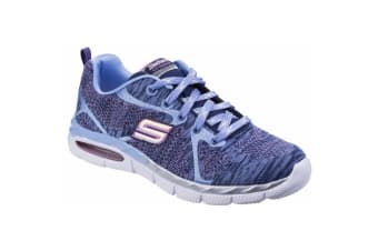 Skechers Childrens Girls Air Appeal Breezy Bliss Contrast Trainers (Navy/Periwinkle) (11.5 UK Junior)