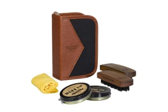 Gentlemen`s Hardware Buff & Shine Shoe Polish Kit & Travel Case