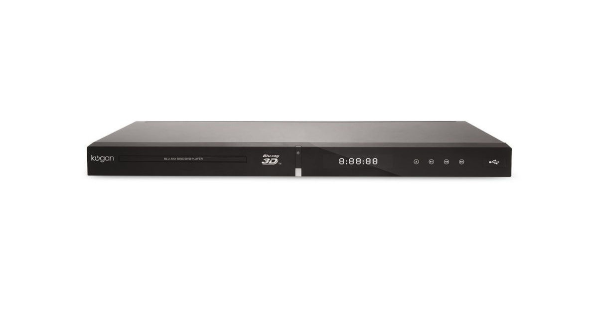 kogan 3d blu ray player with 4k upscaling. Black Bedroom Furniture Sets. Home Design Ideas