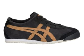 Onitsuka Tiger Mexico 66 Shoe (Black/Caravan, Size 6.5)