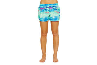Champion Women's Go To Shorts - Excursion Photoscape (Size M)