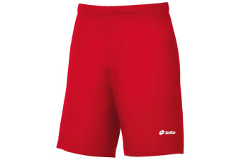 Lotto Boys Football Omega Sports Short (Flame Red) (MB)