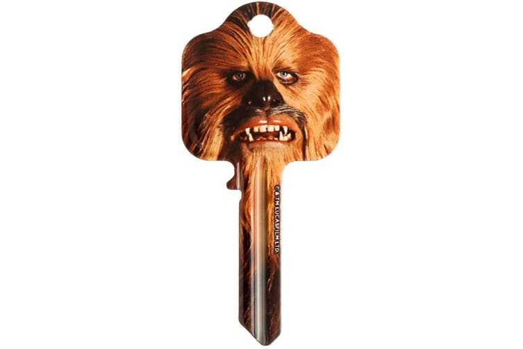 Star Wars Chewbacca Door Key (Brown) (One Size)