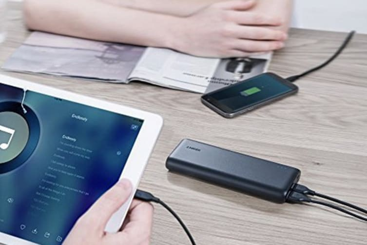 Anker PowerCore 20100mAh Power Bank A1271H12 (Black)