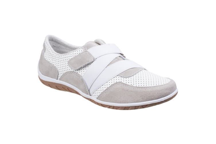 Fleet & Foster Womens/Ladies Bellini Comfort Shoes (White) (6 UK)