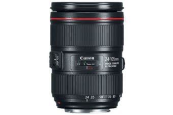 New Canon EF 24-105mm F4L IS II USM Lens (FREE DELIVERY + 1 YEAR AU WARRANTY)