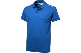 Slazenger Mens Backhand Short Sleeve Polo (Sky Blue) (M)