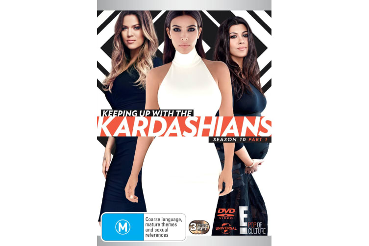 Keeping Up With the Kardashians Season 10 Part 1 DVD Region 4