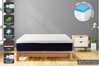 Ergolux Gel Memory Foam & Latex Mattress (Single)
