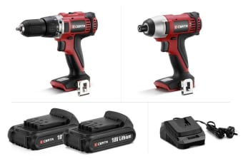 Certa PowerPlus 18V Drill and Impact Combo