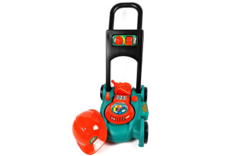 Garden Power Toy Lawn Mower with Helmet