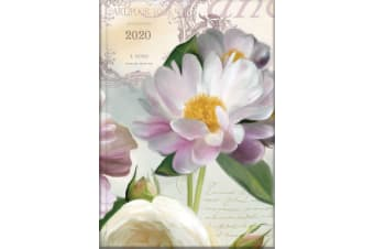 Soft Petals - 2020 Diary Planner A5 Padded Cover by The Gifted Stationery