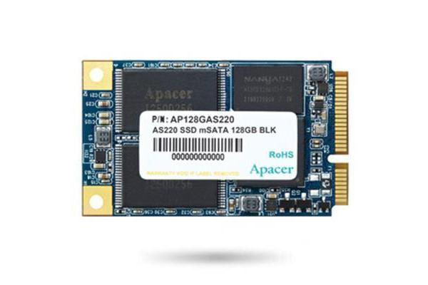 Apacer AS220 mSATA 128GB 6Gbps mSATA SSD