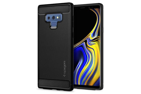 Spigen Galaxy Note 9 Rugged Armor Case Black