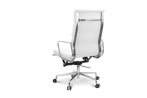 Ergolux Executive Eames Replica High Back Padded Office Chair (White)