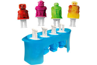 Tovolo Robot Pop Moulds - Set 4
