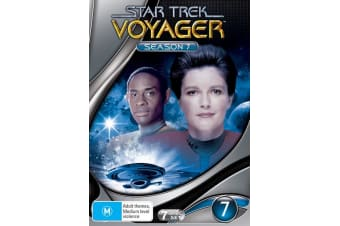 Star Trek Voyager Season 7 DVD Region 4