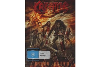Kreator: Dying Alive (DVD/2CD) - DVD - NEW Region Free