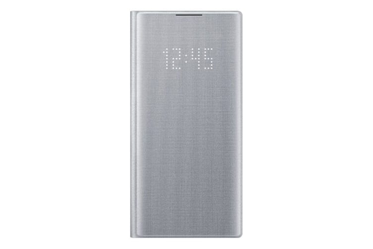 Samsung Galaxy Note 10 LED View Cover - Silver