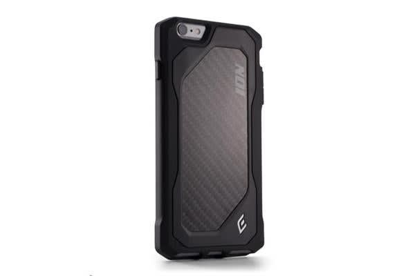 Element Case iPhone 6/6S Plus - ION 6 w/Carbon Fibre Black