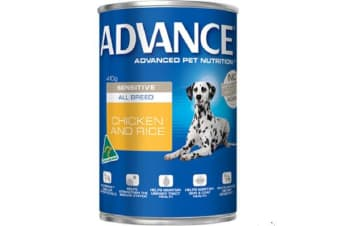 Advance Adult Sensitive Chicken Rice Cans - 12cans