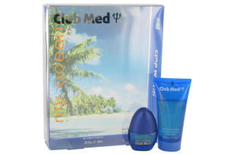 Coty Club Med My Ocean Gift Set - Mini Eau De Toilette Spray + 1.85 oz Hair & Body Wash