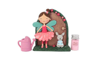 Something Different Fleur and Marvin Fairy Door Gift Set (Multicoloured) (One Size)