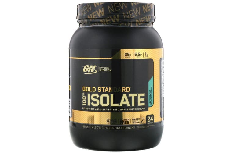 Optimum Nutrition, Gold Standard, 100% Isolate, Mint Brownie
