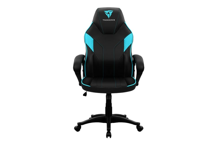 ThunderX3 EC1 Breathable Pinhole Surface Gaming/Office Chair - Black/Cyan