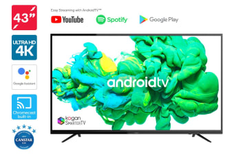 "Kogan 43"" XU9010 4K LED SmarterTV™ ( Android TV™, Smart TV )"