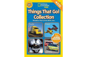 National Geographic Kids Readers - Things That Go Collection
