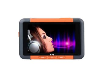 Select Mall 3 Inch Slim LCD Screen Music Player 8GB MP5 With FM Radio Video Movie Media Player MP5-Orange