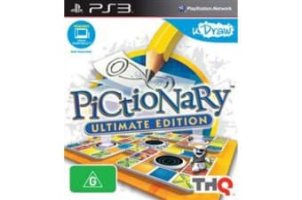PICTIONARY ULTIMATE EDITION PS3 PlayStation 3 Game - Disc Like New