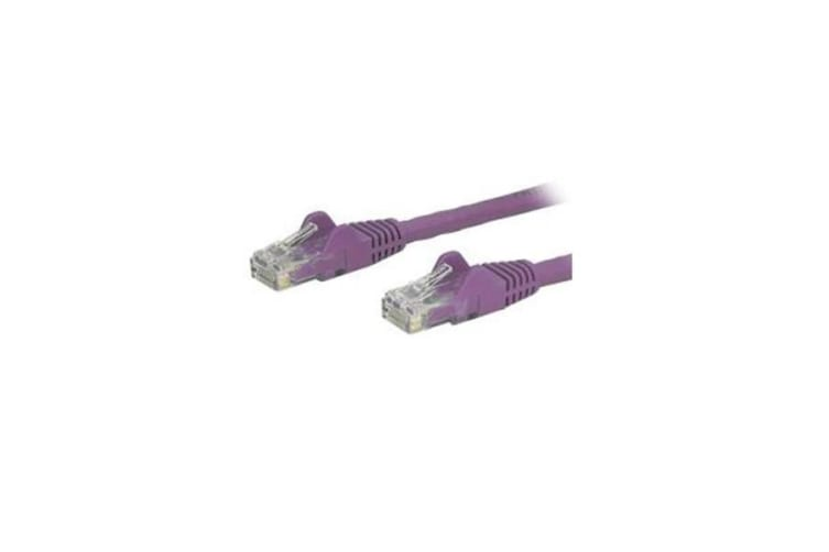 Startech Purple Snagless Cat6 Patch Cable