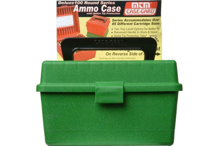 Mtm Deluxe 100 Round Ammo Boxes