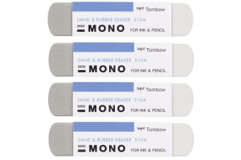 4 pcs of Tombow Mono Sand and Rubber Eraser