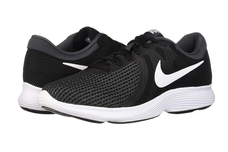 Nike Revolution 4 Men's Running Shoe (Black/White/Anthracite, Size 6 US)