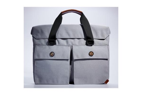 "Casual Series 14"" Notebook Laptop Carry Bag ( Grey ) Size: 380x290x50mm Weight:600g"