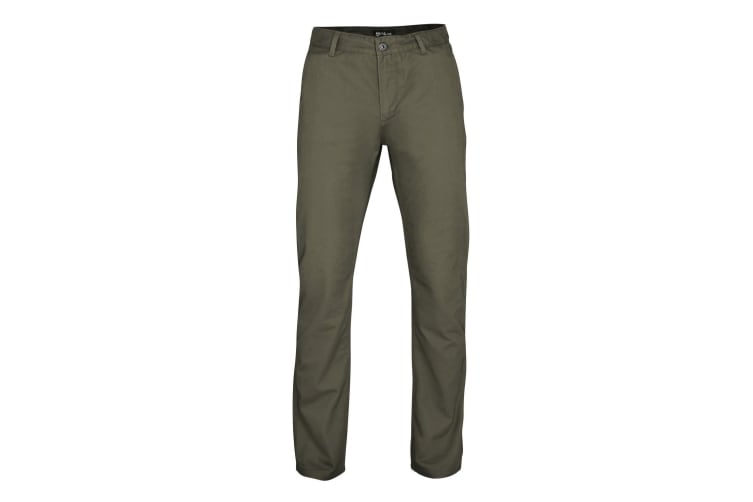 Asquith & Fox Mens Classic Casual Chinos/Trousers (Slate) (XSR)
