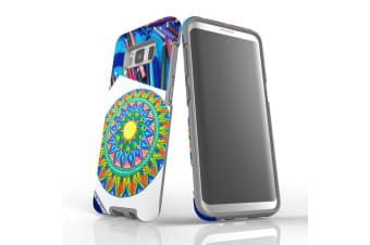 For Samsung Galaxy S8 Case Armour Cover  Pencil Coloring
