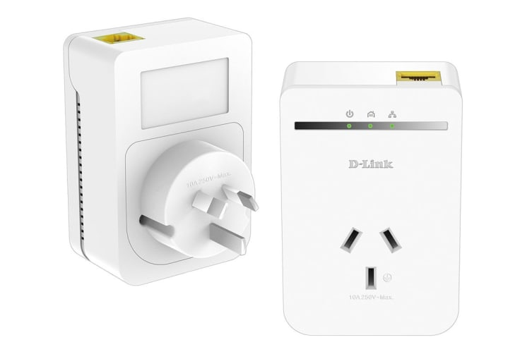 D-Link PowerLine AV500 Passthrough Network Starter Kit (DHP-P309AV)