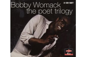 Bobby Womack ‎– The Poet Trilogy BRAND NEW SEALED MUSIC ALBUM CD - AU STOCK