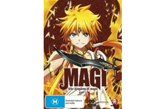 Magi The Kingdom of Magic Part 2 DVD | New PAL Region R4