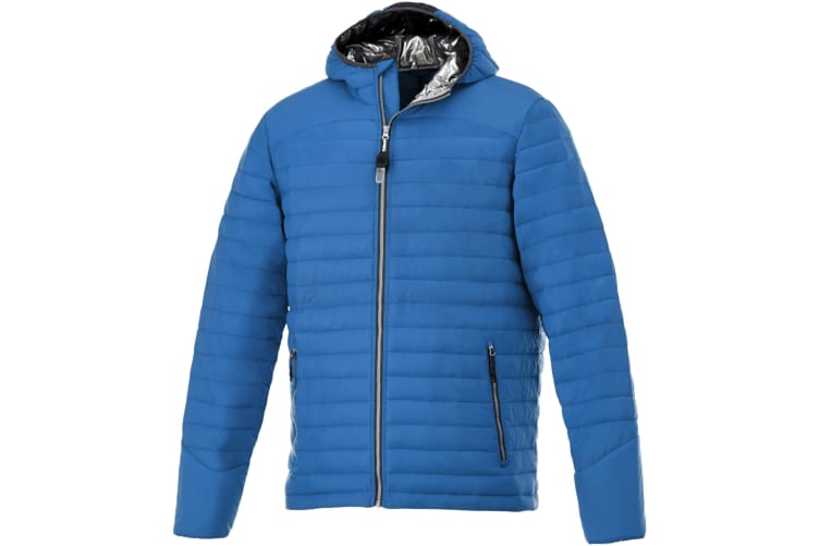 Elevate Mens Silverton Insulated Jacket (Blue) (L)