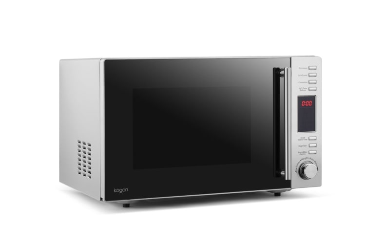 Kogan Premium 28L Stainless Steel Convection Microwave Oven with Grill