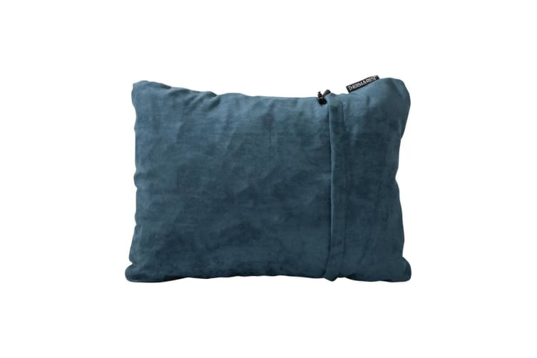 Thermarest Compressible Pillow Denim Sleep Pillows Size Large