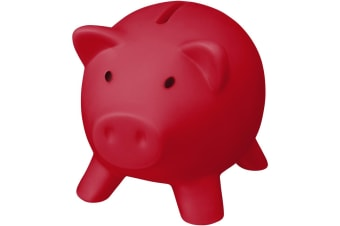 Bullet Piggy Bank (Red) (One Size)