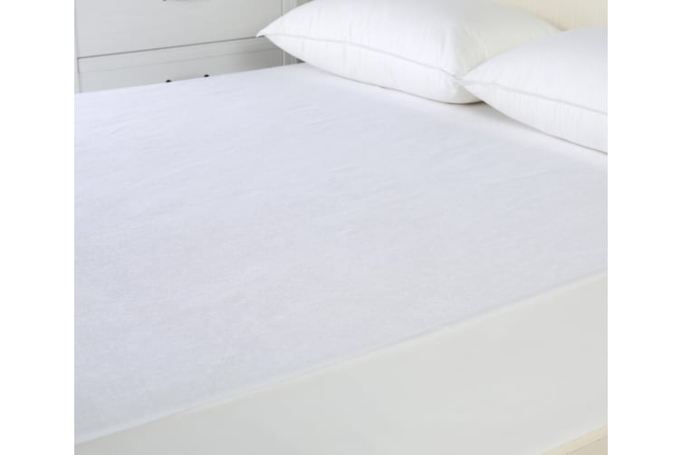 Reversible Cotton Waterproof Mattress Protector King Single Bed